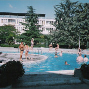 Алушта, пансионат Восход, бассейн скиммерного типа. Год постройки 2004