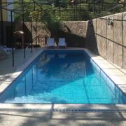 Форос, частный бассейн скиммерного типа. Год постройки 2007